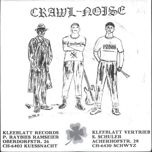 "Crawl Noise: Demo II + Live Kuessnacht 29.2.88, 7"" Single (Vinyl)"