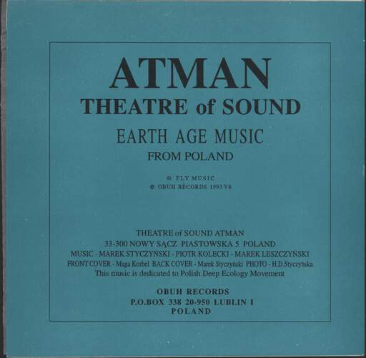 "Atman: The End Of Philosophy, 7"" Single (Vinyl)"