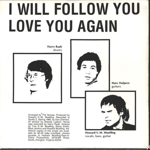 "Nurses: Love You Again / I Will Follow You, 7"" Single (Vinyl)"