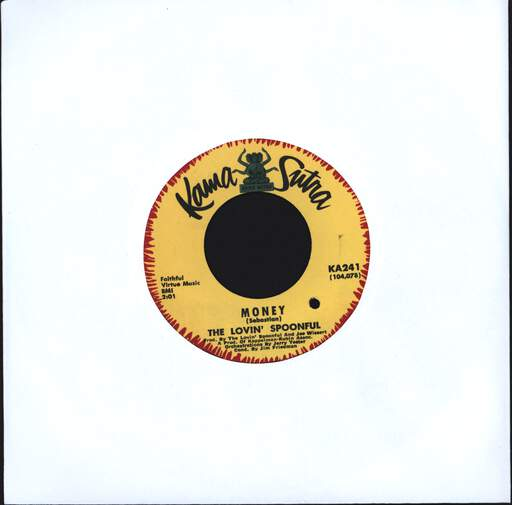 "Lovin' Spoonful: Money / Close Your Eyes, 7"" Single (Vinyl)"
