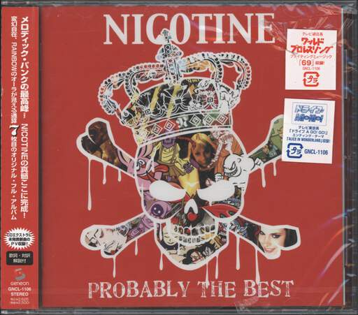 Nicotine: Probably The Best, CD