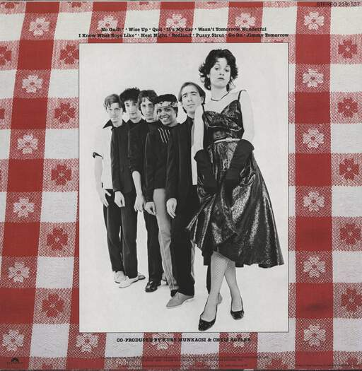 Waitresses: Wasn't Tomorrow Wonderful?, LP (Vinyl)