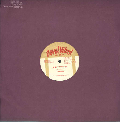 "One Blood: Don't Stop Lovin' / When I'm With You, 12"" Maxi Single (Vinyl)"