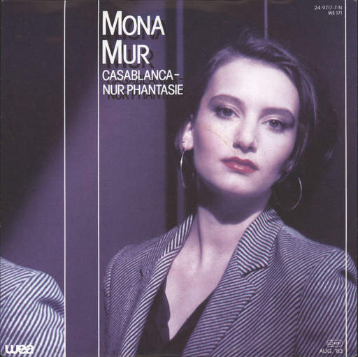 "Mona Mur: Casablanca - Nur Phantasie, 7"" Single (Vinyl)"