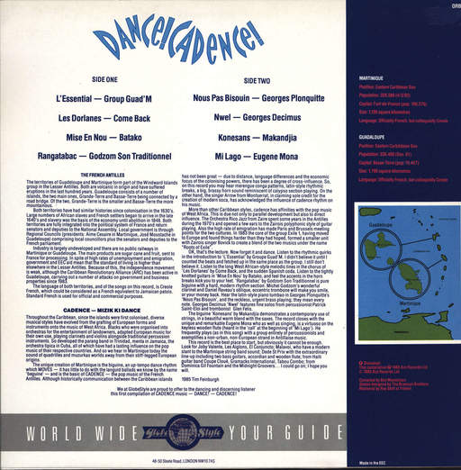 Various: Dance! Cadence!, LP (Vinyl)