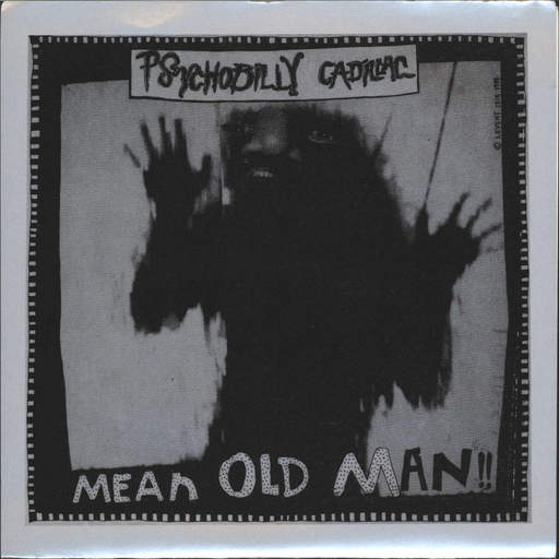 "Psychobilly Cadillac: Mean Old Man / D'Mirage, 7"" Single (Vinyl)"