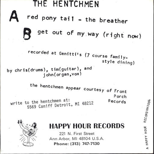 "Hentchmen: The Breather..., 7"" Single (Vinyl)"