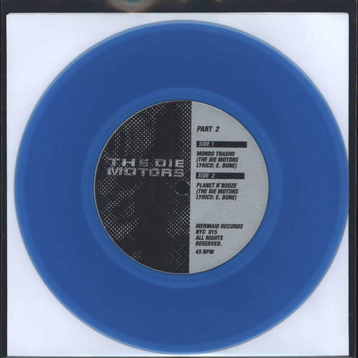 "Die Motors: In A Mondo Trasho. Part 2., 7"" Single (Vinyl)"