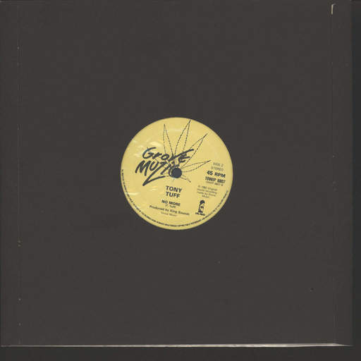 "Tony Tuff: Show On The Road / No More, 10"" Vinyl EP"