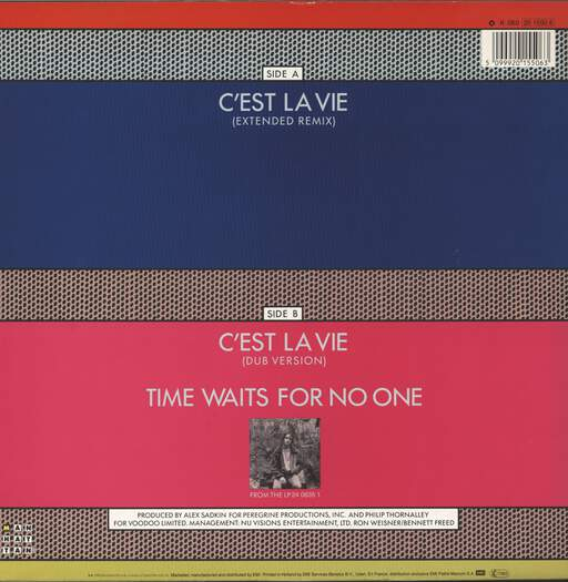 "Robbie Nevil: C'est La Vie, 12"" Maxi Single (Vinyl)"