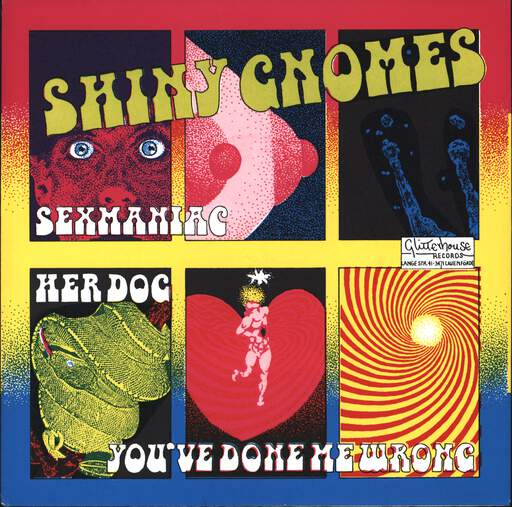 "Shiny Gnomes: Sexmaniac, 7"" Single (Vinyl)"