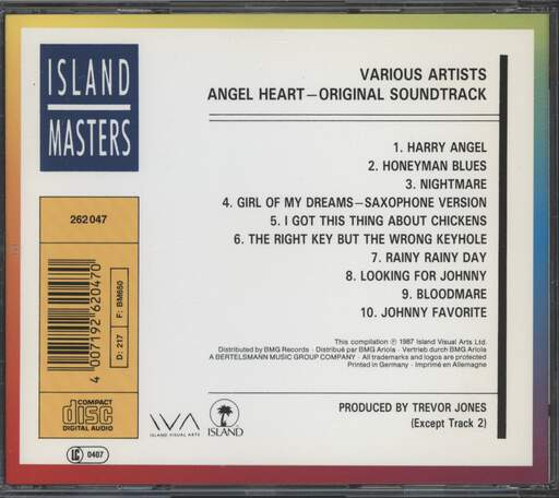 Various: Angel Heart (Original Motion Picture Soundtrack), CD