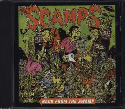 Scamps: Back From The Swamp, CD