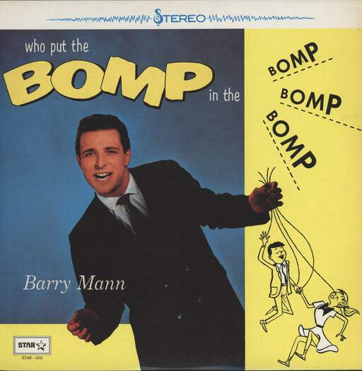 Barry Mann: Who Put The Bomp, LP (Vinyl)