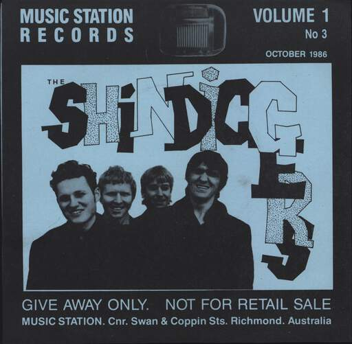"Shindiggers: Music Station Records Volume 1 No. 3, 7"" Single (Vinyl)"