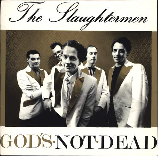 "Slaughtermen: God's Not Dead, 7"" Single (Vinyl)"