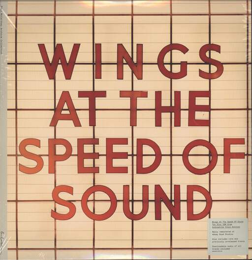 Wings: At The Speed Of Sound, LP (Vinyl)