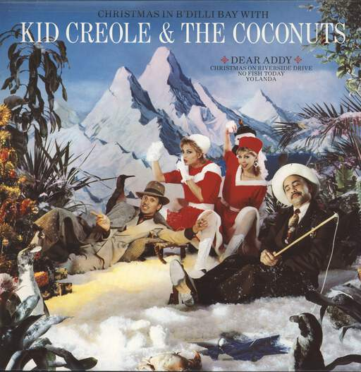 "Kid Creole And The Coconuts: Christmas In B'dilli Bay, 12"" Maxi Single (Vinyl)"