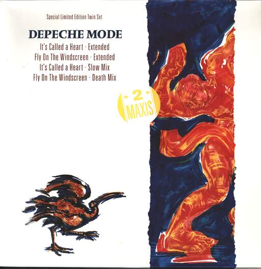 "Depeche Mode: It's Called A Heart (Extended Version), 12"" Maxi Single (Vinyl)"