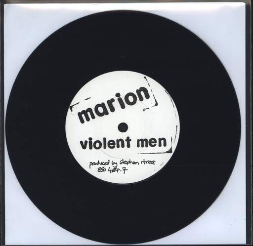 "Marion: Violent Men, 7"" Single (Vinyl)"
