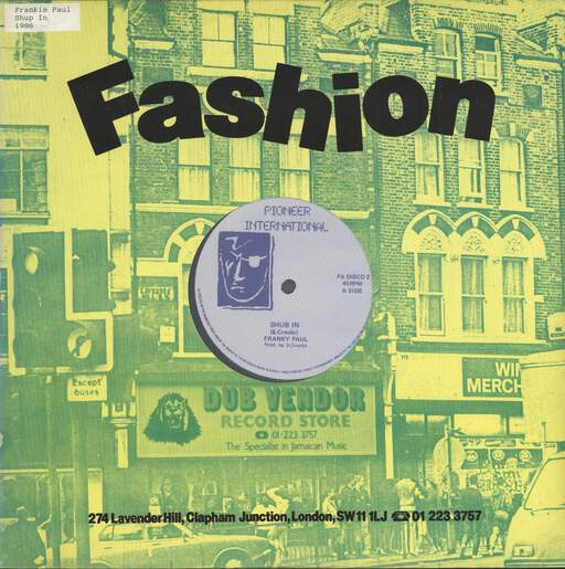 "Frankie Paul: Shub In, 12"" Maxi Single (Vinyl)"
