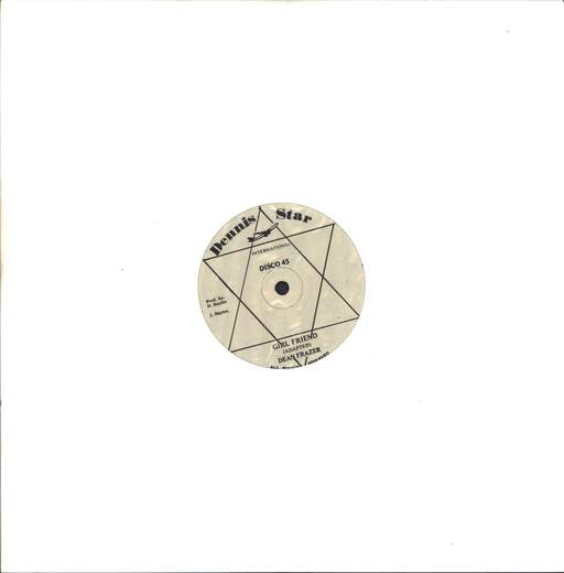"Dean Fraser: Girl Friend / Bummy Bummy Baby, 12"" Maxi Single (Vinyl)"