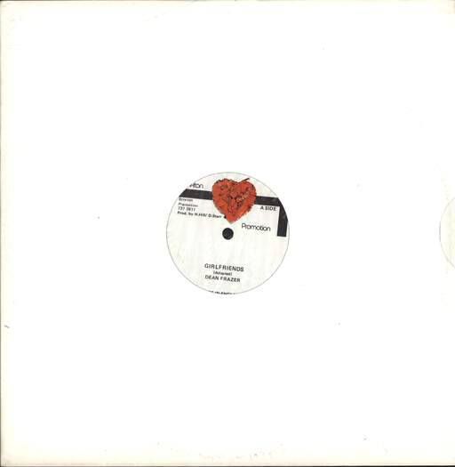 "Dean Fraser: Girlfriends / Version, 12"" Maxi Single (Vinyl)"