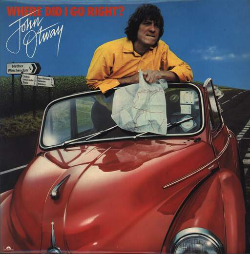 John Otway: Where Did I Go Right?, LP (Vinyl)