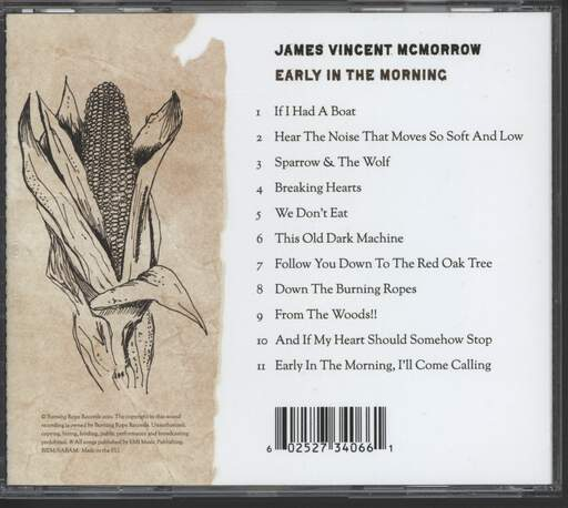 James Vincent McMorrow: Early In The Morning, CD