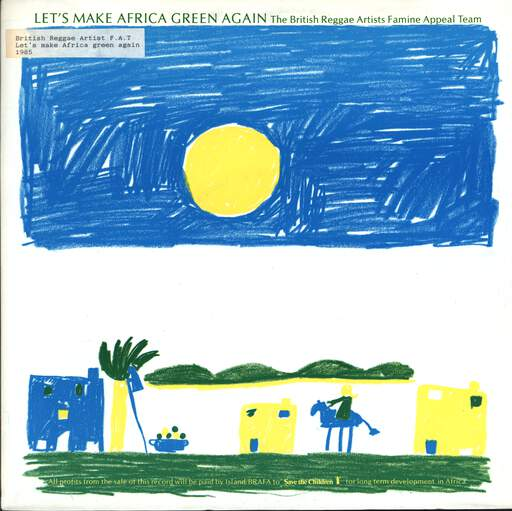 "Brafa Team: Let's Make Africa Green Again, 12"" Maxi Single (Vinyl)"