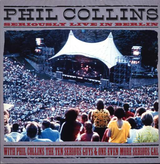 Phil Collins: Seriously Live In Berlin, LaserDisk