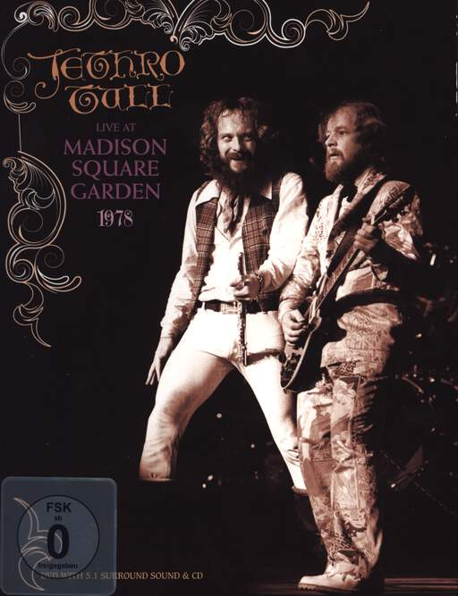 Jethro Tull: Live At Madison Square Garden 1978, DVD