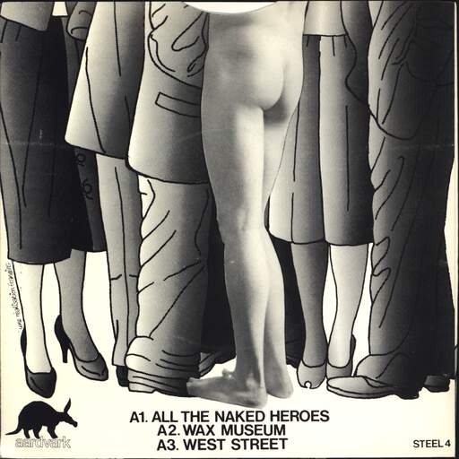 "Naughtiest Girl Was a Monitor: All The Naked Heroes / Wax Museum / West Street, 7"" Single (Vinyl)"
