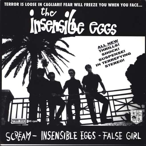 "Insensible Eggs: Scream, 7"" Single (Vinyl)"