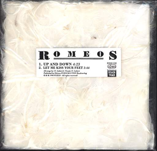 "Romeos: Up And Down, 7"" Single (Vinyl)"