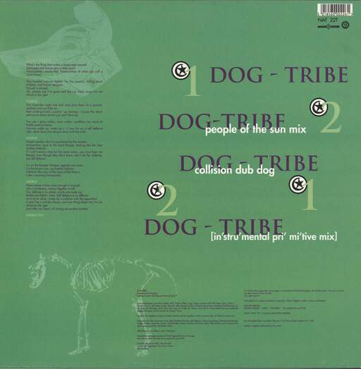 "Fun-Da-Mental: Dog-Tribe, 12"" Maxi Single (Vinyl)"