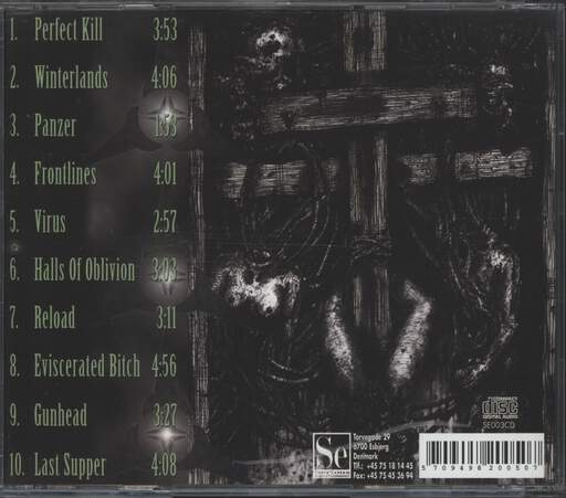 Panzerchrist: Six Seconds Kill, CD
