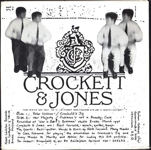 "Crockett & Jones: Peter Ustinov, 7"" Single (Vinyl)"