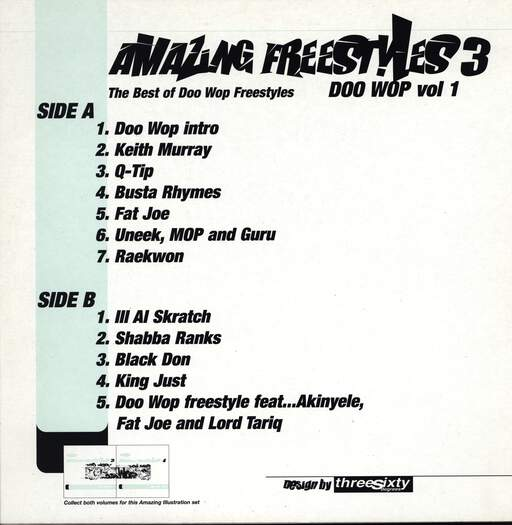 Various: Amazing Freestyles 3 - Doo Wop Vol.1, LP (Vinyl)