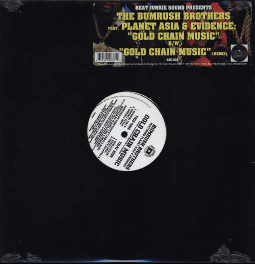 "Bumrush Bros.: Gold Chain Music, 12"" Maxi Single (Vinyl)"