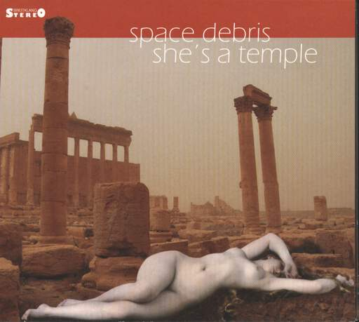 Space Debris: She's A Temple, CD
