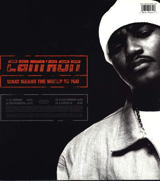 "Cam'ron: What Means The World To You, 12"" Maxi Single (Vinyl)"
