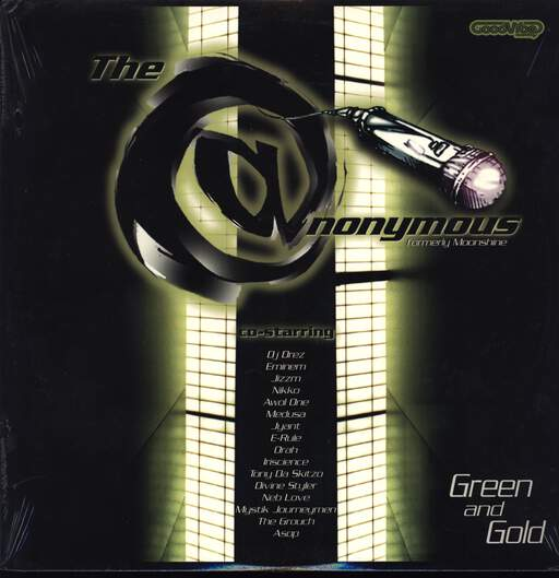 "Anonymous: Green And Gold, 12"" Maxi Single (Vinyl)"