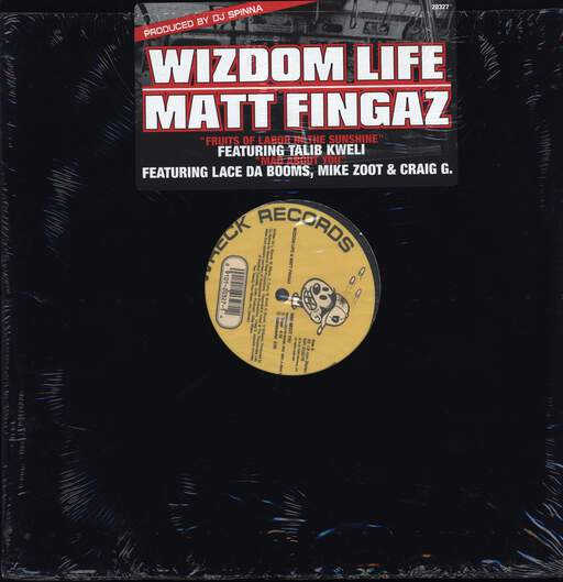 "Wizdom Life: Fruits Of Labor In The Sunshine, 12"" Maxi Single (Vinyl)"