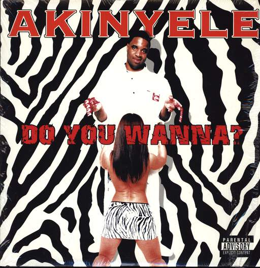 "Akinyele: Do You Wanna?, 12"" Maxi Single (Vinyl)"