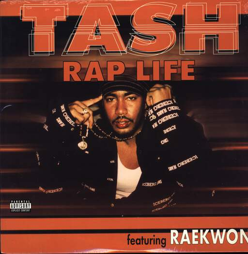 "Tash: Rap Life, 12"" Maxi Single (Vinyl)"