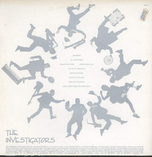 Investigators. The: The Investigators, LP (Vinyl)