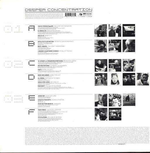 Various: Deeper Concentration, LP (Vinyl)