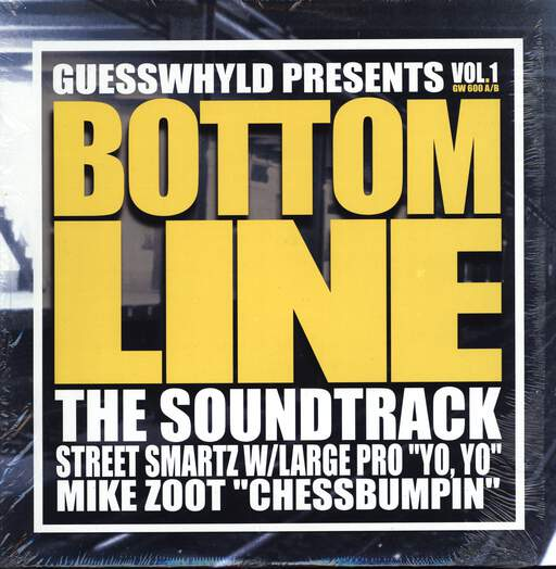 "Various: Bottom Line: The Soundtrack, Vol. 1, 12"" Maxi Single (Vinyl)"
