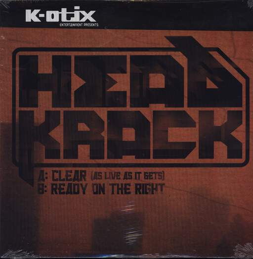 "Head Krack: Clear (As Live As It Gets) / Ready On The Right, 12"" Maxi Single (Vinyl)"
